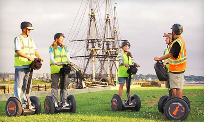 Witch City Segway - Downtown Salem: One-Hour Segway Tour for One or Six from Witch City Segway in Salem (Up to 56% Off)