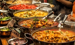 Ashoka Shak Dundee: Three-Course All-You-Can-Eat Grand Indian Lunch Buffet for Two at Ashoka Shak Dundee