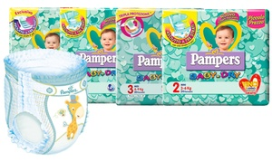 152 couches Pampers Baby Dry