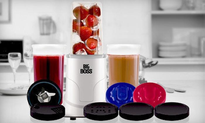 Emson Big Boss 15-Piece Blender Set: $29 for a 15-Piece Emson Big Boss Multi Blender Set ($59.99 List Price)