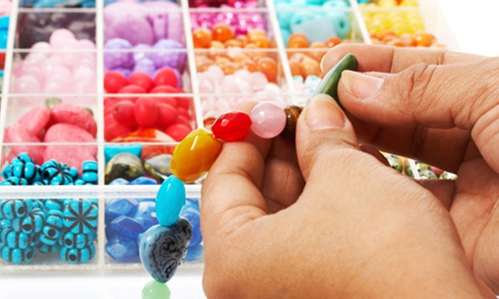 Cosmopolitan Beads - Cave Creek: Jewelry-Making Class for One, Two, or Four People at Cosmopolitan Beads (Up to 69% Off)