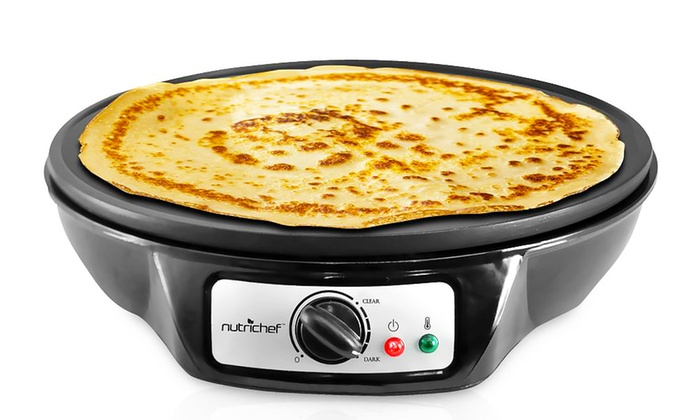 Crepe Maker Amp Countertop Griddle Groupon Goods