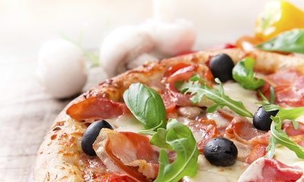Up to 40% Off Pizza, Wings, and Italian Food at King Pizza & Mediterranean