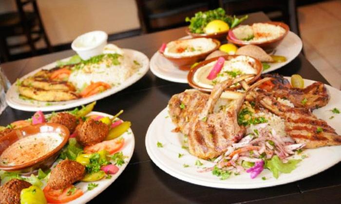 Cedar Grille - Northfield: $10 for $20 Worth of Mediterranean Dinner Cuisine at Cedar Grille