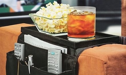 Northwest 6-Pocket Arm Rest Organizer with Table-Top