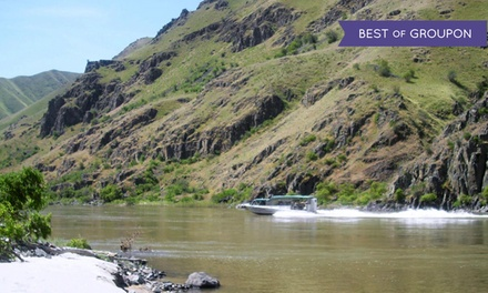 Jet-Boat Tour from Beamers Hells Canyon Tours ($219Value)