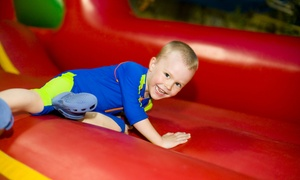 BounceU: Five Open Bounces, One Party Package, or One-Day Bounce Art Camp at BounceU in Kennesaw (Up to 50% Off)