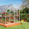 Palram Grow and Store 6'x12' Greenhouse and Storage Shed