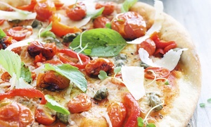 River Rock Pizza: $16 for $30 Worth of Take out Pizza at River Rock Pizza