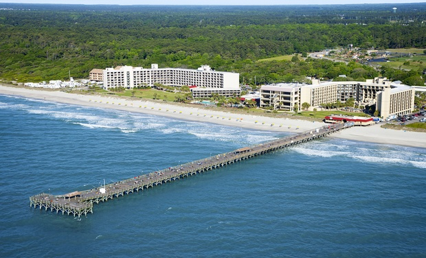 Kid Friendly Oceanfront Resort In Myrtle Beach