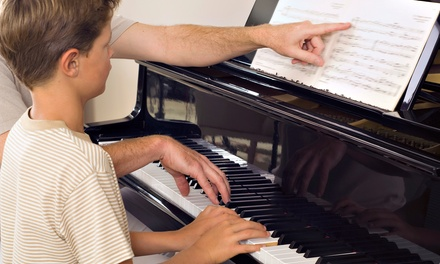 $59 for Four 30-Minute Private Music Lessons at Falcetti Music ($131 Value)