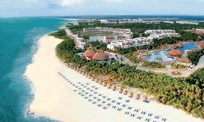 Valentin Imperial Maya All Inclusive - Playa del Carmen: All-Inclusive Three- or Five-Night Stay with Resort Credit at Valentin Imperial Maya in Playa del Carmen, Mexico