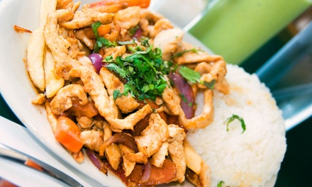 Upscale Peruvian Dinner for Two or Four at Inti NYC Restaurant (Up to 56% Off)