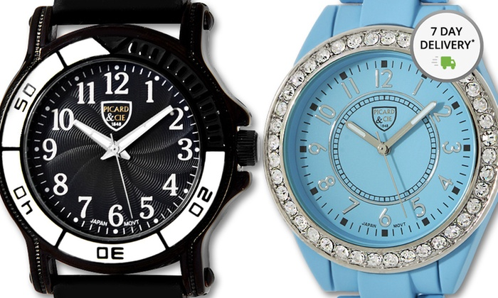 Picard & Cie Men's and Women's Watches: Picard & Cie Women's and Men's Watches. Multiple Styles from $29.99—$34.99. Free Shipping and Returns.