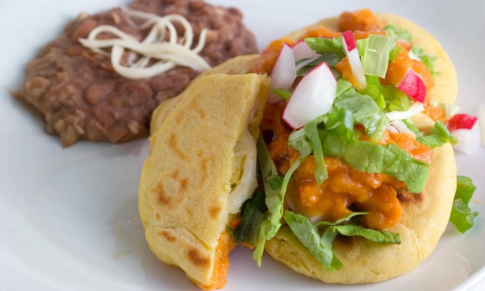 Myra's Salvadorian Cuisine - Downey: One Order of Chips and Guac with Purchase of A Family Meal for Four at Myra's Salvadorian Cuisine