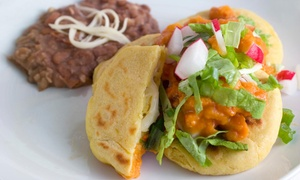 Myra's Salvadorian Cuisine: One Order of Chips and Guac with Purchase of A Family Meal for Four at Myra's Salvadorian Cuisine