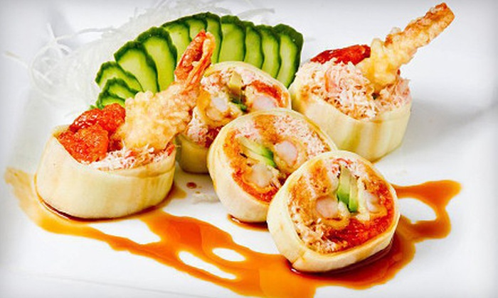Rok Sushi Kitchen - Hermosa Beach: Sushi and Japanese Fusion Cuisine at Rok Sushi Kitchen (Half Off). Two Options Available.