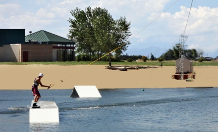 Introductory Cable-Wakeboarding Lesson for Two (a $108 value) - Mile High Wakeboarding in Milliken
