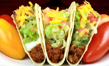 $12 for $20 Worth of Mexican Food at El Taquito: Drive-In