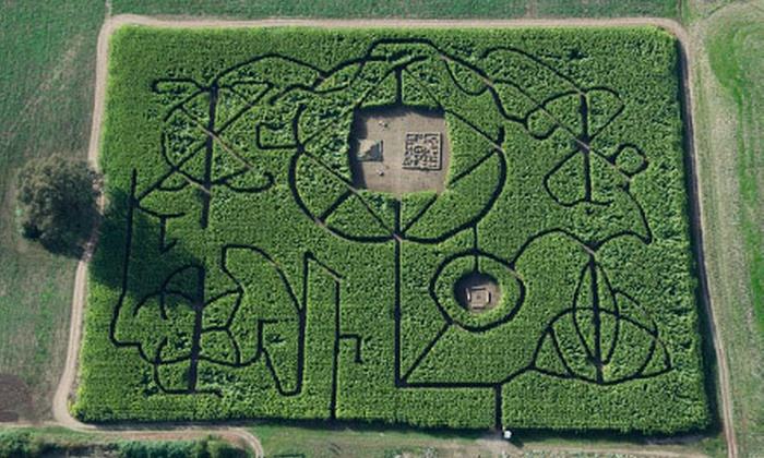 Bose Family Farm - Scio-Lacomb: Unlimited Access to Corn Maze, Mini Disc Golf, and Hayrides for Two or Four at Bose Family Farm (Half Off)