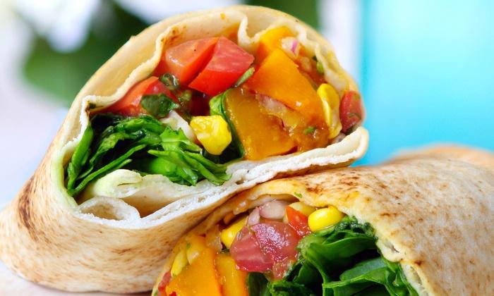 Positive Vibe Café - Stratford Hills: Healthy Café Cuisine at Positive Vibe Café (Up to 53% Off). Two Options Available.
