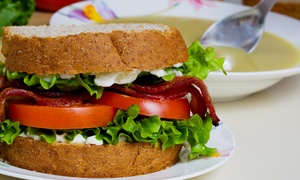 Moose a'la Mode: $16 for Sandwiches or Salads for Lunch for Two Moose a'la Mode ($30 value)