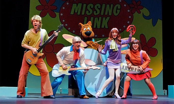 """Scooby Doo Live! Musical Mysteries"" - Bell Auditorium: ""Scooby Doo Live! Musical Mysteries"" Family Dog Pound Seats at Bell Auditorium on March 30 at 2 p.m. (Up to 39% Off)"