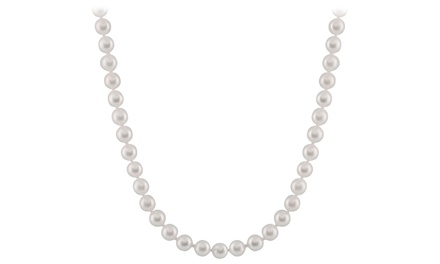 7mm–8mm Cultured Akoya Pearl Necklace