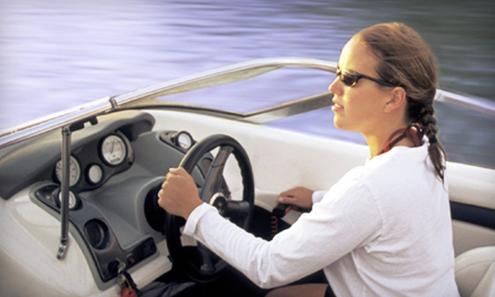 National Boating Safety School: $28 for Pleasure Craft Operator Card from National Boating Safety School ($57.43 Value)