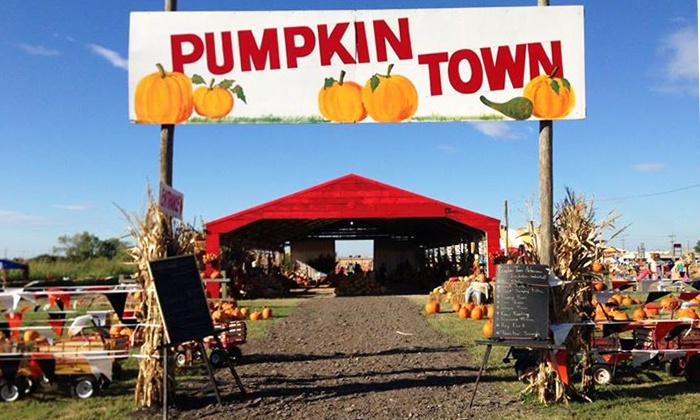 Pumpkin Town - Tulsa: Maze and Farm Visit for Two at Pumpkin Farm (Up to 44% Off). Two Options Available.