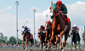 Emerald Downs: Emerald Downs: Horse-Racing Package with Program and Food and Beverage Voucher (Through September 11)