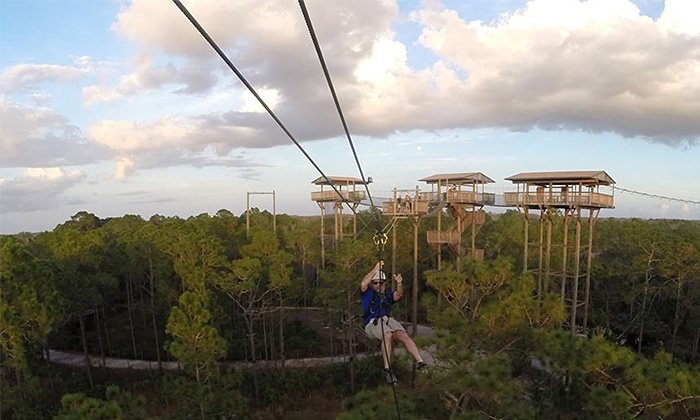 Forever Florida - St. Cloud: $49.99 for a Zipline Adventure at Forever Florida ($79.99 Value)