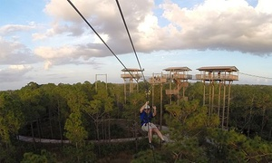 Forever Florida: $49.99 for a Zipline Adventure at Forever Florida ($79.99 Value)