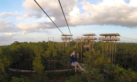 $53 for a Zipline Adventure at Forever Florida ($79.99 Value)