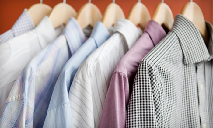 Martinizing Dry Cleaning - Multiple Locations: Dry Cleaning at Martinizing Dry Cleaning (Half Off). Two Options Available.