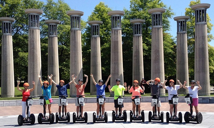 iRide Nashville - Downtown: $39 for a Two-Hour Downtown Segway Tour for One from iRide Nashville ($75 Value)