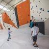 Lezione o corso di arrampicata