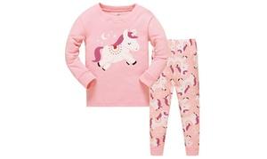 Pyjama pantalon licorne pour enfant