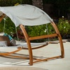 Rosalie Outdoor Swing Bed and Canopy