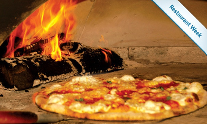 Sicilian Oven - Multiple Locations: $19 for Wood-Fired Pizza Meal for Two at Sicilian Oven in Aventura and Coral Springs (Up to $38 Value)