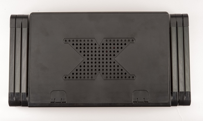 table pour pc portable tablette groupon shopping. Black Bedroom Furniture Sets. Home Design Ideas