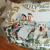 Up to 61% Off Custom Woven Photo Blankets