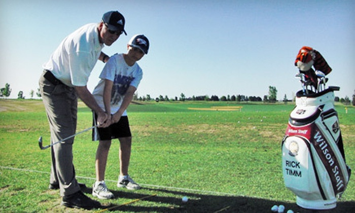 Timm Golf Academy - Inverness: $150 for 10 One-Hour Adult Clinics from Timm Golf Academy in Centennial ($300 Value)