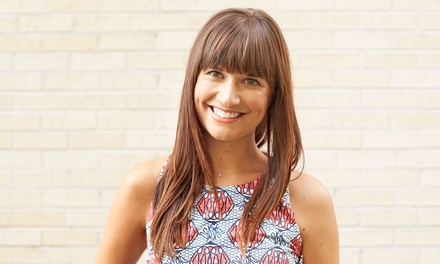 Haircut with Optional Partial Highlights or Full Highlights at The Haircut and Nail Studio (Up to 51% Off)