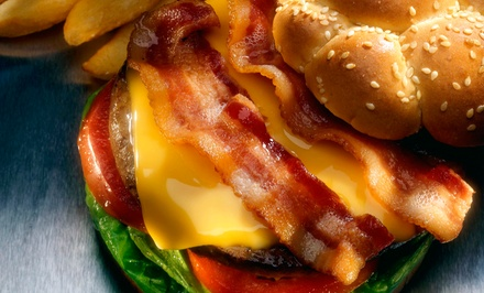 American Food for Dinner for Two or Four at District Bar & Grill (45% Off)