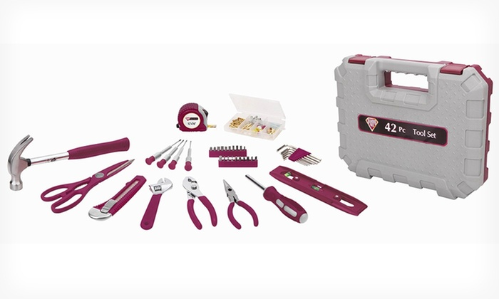 42-Piece General Home Repair Tool Set: $22.99 for a 42-Piece General Home Repair Tool Set ($24.99 List Price). Free Shipping.