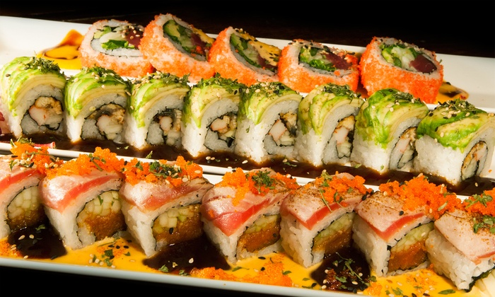 Sushime - Lenox Village: Sushi and Japanese Food at Sushime (Up to 47% Off). Two Options Available.