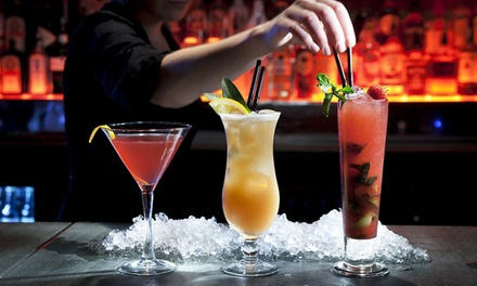Mixology Masterclass with Two Cocktails, or Three Cocktails and Shooter at Cirkus Bar