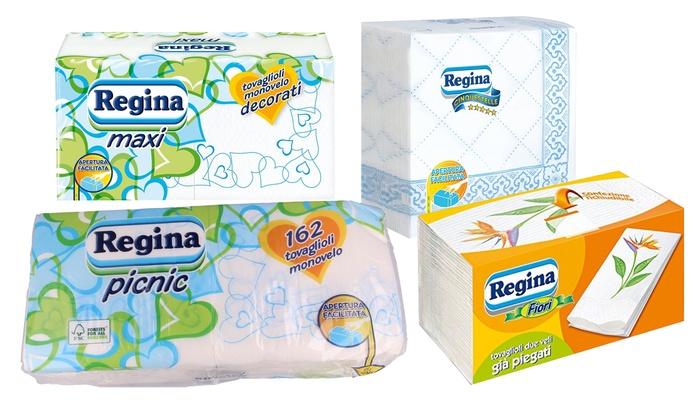 alta qualità ineguagliabile nelle prestazioni stile classico Tovaglioli di carta Regina | Groupon Goods
