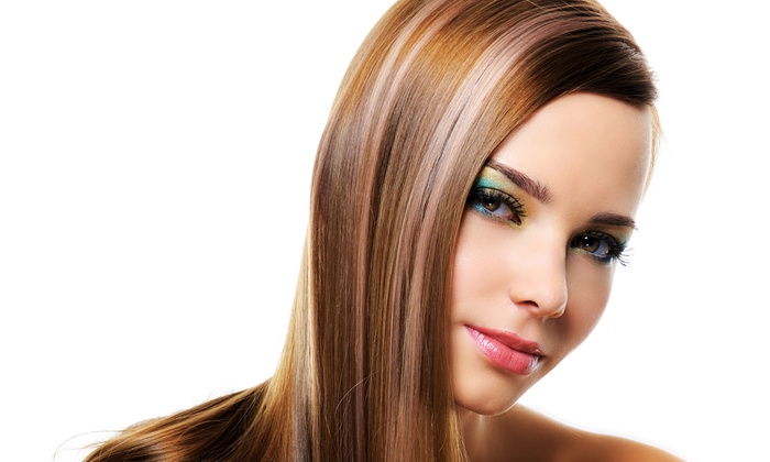 W Hair Salon - Oakwood: Haircut Packages or Full Color Treatment at W Hair Salon (Up to $175 Off). Three Options Available.